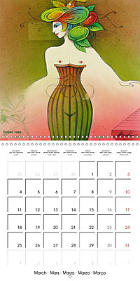 Mother Nature's Beauties 2019 (Wall Calendar 2019 300 × 300 mm Square) - Produktdetailbild 3