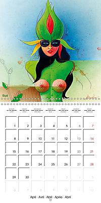 Mother Nature's Beauties 2019 (Wall Calendar 2019 300 × 300 mm Square) - Produktdetailbild 4