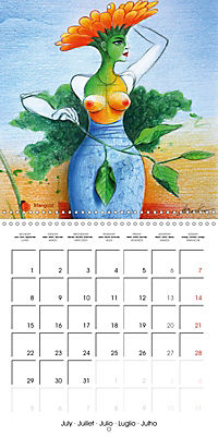 Mother Nature's Beauties 2019 (Wall Calendar 2019 300 × 300 mm Square) - Produktdetailbild 7