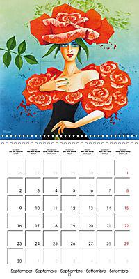 Mother Nature's Beauties 2019 (Wall Calendar 2019 300 × 300 mm Square) - Produktdetailbild 9
