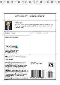 Motivation-Art Herzenswünsche (Tischkalender 2019 DIN A5 hoch) - Produktdetailbild 13