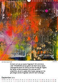 Motivation-Art Herzenswünsche (Wandkalender 2019 DIN A3 hoch) - Produktdetailbild 9
