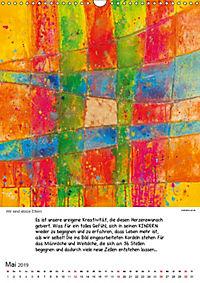 Motivation-Art Herzenswünsche (Wandkalender 2019 DIN A3 hoch) - Produktdetailbild 5