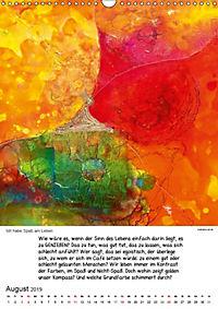 Motivation-Art Herzenswünsche (Wandkalender 2019 DIN A3 hoch) - Produktdetailbild 8