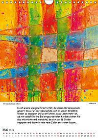 Motivation-Art Herzenswünsche (Wandkalender 2019 DIN A4 hoch) - Produktdetailbild 5