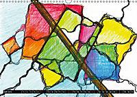 Motivation-Art - Neurographiken (Wandkalender 2019 DIN A3 quer) - Produktdetailbild 7