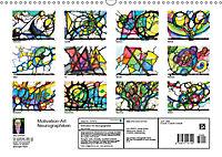 Motivation-Art - Neurographiken (Wandkalender 2019 DIN A3 quer) - Produktdetailbild 13