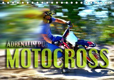 Motocross - Adrenalin pur (Tischkalender 2019 DIN A5 quer), Renate Bleicher