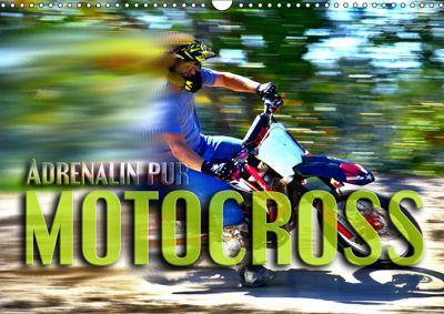 Motocross - Adrenalin pur (Wandkalender 2019 DIN A3 quer), Renate Bleicher