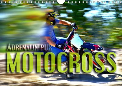 Motocross - Adrenalin pur (Wandkalender 2019 DIN A4 quer), Renate Bleicher