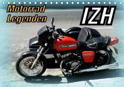 Motorrad-Legenden: IZH (Tischkalender 2019 DIN A5 quer), Henning von Löwis of Menar