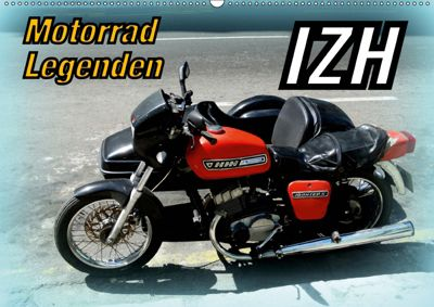 Motorrad-Legenden: IZH (Wandkalender 2019 DIN A2 quer), Henning von Löwis of Menar