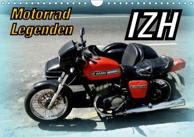 Motorrad-Legenden: IZH (Wandkalender 2019 DIN A4 quer), Henning von Löwis of Menar