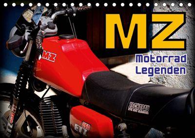 Motorrad-Legenden - MZ (Tischkalender 2019 DIN A5 quer), Henning von Löwis of Menar