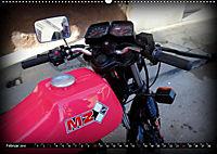 Motorrad-Legenden - MZ (Wandkalender 2019 DIN A2 quer) - Produktdetailbild 2