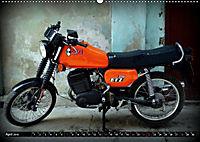 Motorrad-Legenden - MZ (Wandkalender 2019 DIN A2 quer) - Produktdetailbild 4