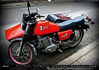 Motorrad-Legenden - MZ (Wandkalender 2019 DIN A2 quer) - Produktdetailbild 7