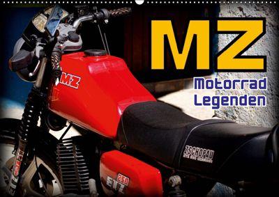 Motorrad-Legenden - MZ (Wandkalender 2019 DIN A2 quer), Henning von Löwis of Menar
