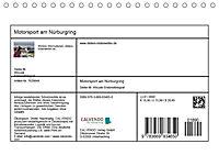 Motorsport am Nürburgring (Tischkalender 2019 DIN A5 quer) - Produktdetailbild 1