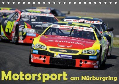 Motorsport am Nürburgring (Tischkalender 2019 DIN A5 quer), Dieter-M. Wilczek