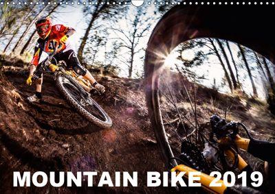 Mountain Bike 2019 by Stef. Candé / UK-Version (Wall Calendar 2019 DIN A3 Landscape), Stef. Candé