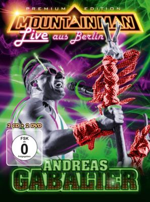 Mountain Man - Live aus Berlin (Limited Premium Edition, 2 CDs + 2 DVDs), Andreas Gabalier
