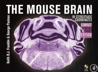 Mouse Brain in Stereotaxic Coordinates, Compact Version, w. DVD-ROM, Keith B. J. Franklin, George Paxinos
