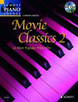 Movie Classics, für Klavier, m. Audio-CD