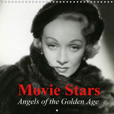 Movie Stars - Angels of the Golden Age (Wall Calendar 2019 300 × 300 mm Square), Elisabeth Stanzer