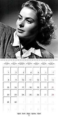 Movie Stars - Angels of the Golden Age (Wall Calendar 2019 300 × 300 mm Square) - Produktdetailbild 4
