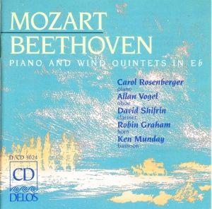 Moz./Beeth./Klav.Quintette, Rosenberger, Vogel, Shifrin