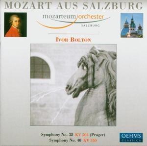 Mozart aus Salzburg - Sinfonie Nr. 38 & 40, Ivor Bolton, Mos