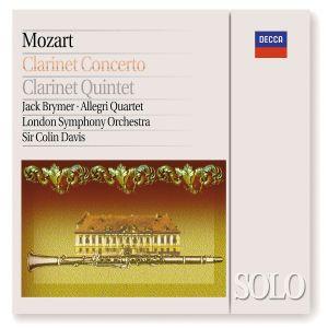 Mozart: Clarinet Concerto / Clarinet Quintet, Jack Brymer, Colin Davis, Lso, All