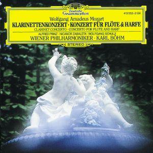 Mozart: Clarinet Concerto K.622, Flute & Harp Concerto K.299, Prinz, Schulz, Zabaleta, Böhm, Wp