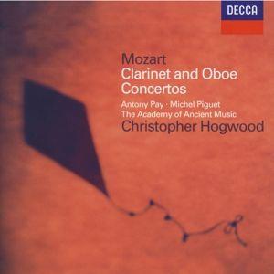 Mozart: Clarinet Concerto, Oboe Concerto, Piquet, Pay, Hogwood