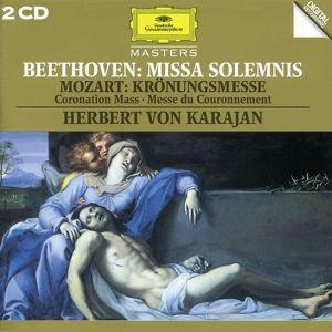 Mozart: Coronation Mass / Beethoven: Missa Solemnis, Kathleen Battle, Herbert von Karajan, Bp, Wp