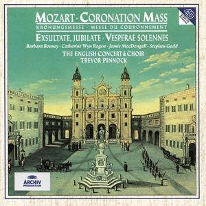 Mozart: Coronation Mass , Exsultate, jubilate, Vesperae Solennes, Bonney, Wyn-Rogers, Pinnock, Ec