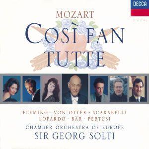 Mozart: Così fan tutte, Fleming, Otter, Bär, Solti, Coe