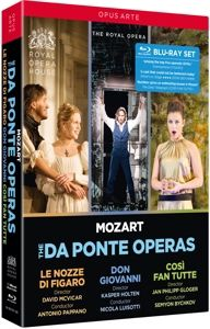 Mozart: Da Ponte Opern, Schrott, Persson, Behle, Pappano, Bychkov, Holten