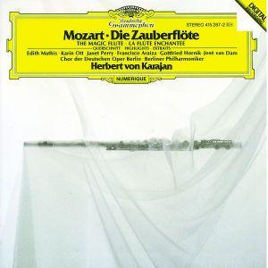 Mozart: Die Zauberflöte - Highlights, Mathis, Ott, Baltsa, Araiza, Dam, Karajan, Bp