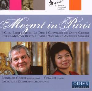 Mozart in Paris, Goebel, Lee, Bayerische Kammerphilh.