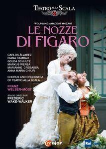 Mozart: Le nozze di Figaro - 2 Disc DVD, Alvarez, Damrau, Crebassa, Welser-Möst, Scala