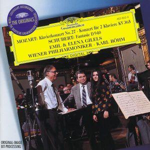 Mozart: Piano Concerto K.595, Concerto for 2 Pianos K.365 / Schubert: Fantasy D940, Gilels, Böhm, Wp