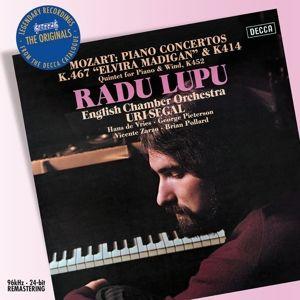 Mozart: Piano Concertos Nos.12 & 21 etc, Lupu Radu