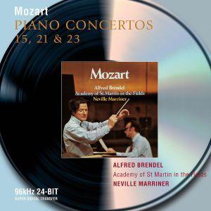 Mozart: Piano Concertos Nos.15, 21 & 23, Alfred Brendel, Neville Marriner, Amf