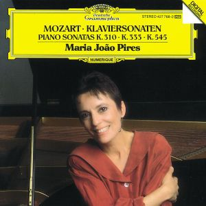 Mozart: Piano Sonatas K.310, K.333 & K.545, Maria Joao Pires