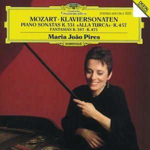 Mozart: Piano Sonatas K.457 & K.331, Fantasias K. 475 & K.397, Maria Joao Pires