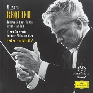 Mozart: Requiem, Tomowa, Baltsa, Krenn, Dam, Karajan, Bp