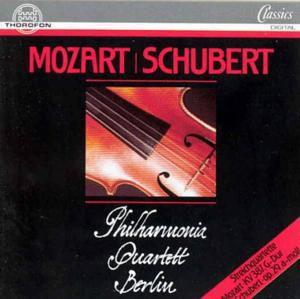 Mozart/schubert: Streichquart., Philharmonia Quartett Berlin