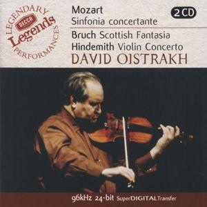 Mozart: Sinfonia Concertante/Bruch: Scottish Fantasia, Hindemith: Violin Concerto, Igor Oistrach, Kyrill Kondraschin, Lso